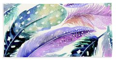 Wild Feathers Beach Sheet
