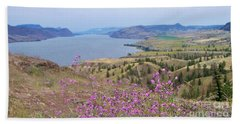 Wild Flower Country Beach Towel