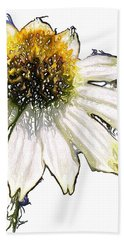 Beach Sheet featuring the photograph Wild Flower Five  by Heidi Smith