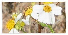 Wild Flowers At Waimea Canyon Beach Towel