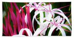 Wild Flowers In Hawaii Beach Towel
