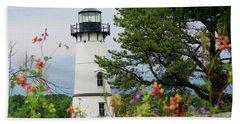 Wild Flowers On Rock Island Beach Sheet