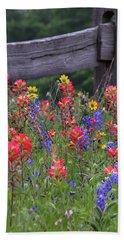 Wild Flowers Beach Sheet