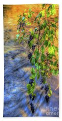 Wild Grapes Beach Towel