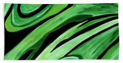 Wild Green Beach Towel