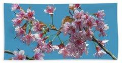 Wild Himalayan Cherry Dthn0220 Beach Sheet