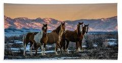 Wild Horse Group Beach Sheet