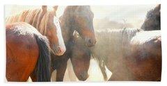 Wild Horses - Australian Brumbies 2 Beach Towel