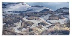 wild Iceland 4 Beach Sheet