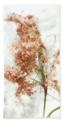 Wild Indian Rice In Autumn Beach Towel by Louise Kumpf