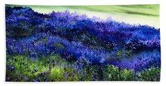 Wild Lavender Beach Sheet