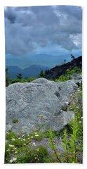 Wild Mountain Flowers Beach Sheet