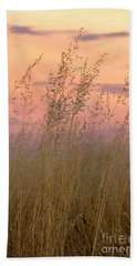 Beach Towel featuring the photograph Wild Oats by Linda Lees