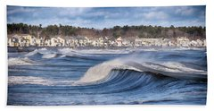 Wild Seas Beach Towel by Tricia Marchlik