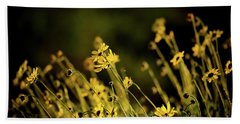 Beach Towel featuring the photograph Wild Spring Flowers by Kelly Wade