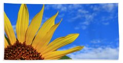 Beach Towel featuring the photograph Wild Sunflower by Shane Bechler
