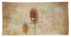 Wild Teasel Beach Towel