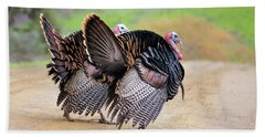 Wild Turkeys Beach Sheet
