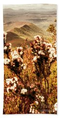 Wild West Mountain View Beach Towel