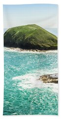 Wild Western Waters Beach Towel