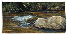 Wilderness Creek Beach Towel