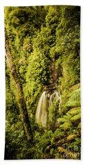 Wilderness Falls Beach Towel