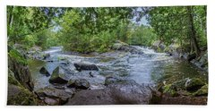 Beach Towel featuring the photograph Wilderness Waterway by Bill Pevlor