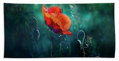 Wildest Dreams Beach Towel by Agnieszka Mlicka