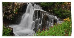 Wildflower Falls Beach Towel