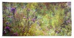 Wildflower Garden Impression 4464 Idp_2 Beach Towel