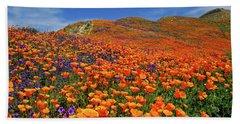 Wildflower Jackpot Beach Sheet