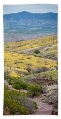 Wildflower Meadows Beach Towel