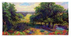 Wildflower Meadows Of Color And Joy Beach Towel