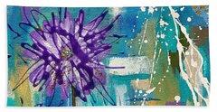 Wildflower No. 1 Beach Towel