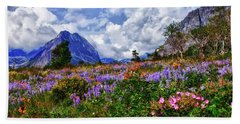 Wildflower Profusion Beach Sheet