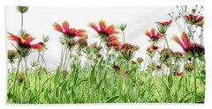 Wildflowers In Geogia Beach Towel