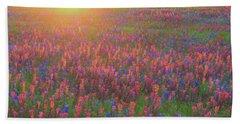 Wildflowers In Texas Beach Towel