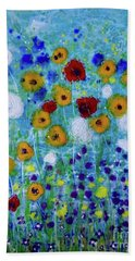 Wildflowers Never Die Beach Towel