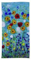 Wildflowers Never Die Beach Towel