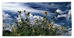 Wildflowers On The Brazos Beach Towel