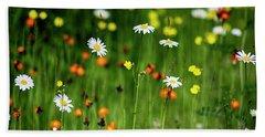 Wildflowers2 Beach Sheet
