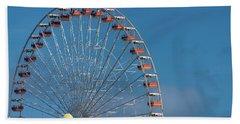 Wildwood Ferris Wheel Beach Towel