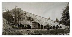 Wilkes Barre Twp Pa Empire Number 5 Coal Breaker 1880 Lehigh And Wb Coal Co. Beach Towel