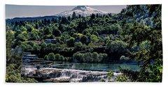 Willamette River Falls Locks Beach Sheet