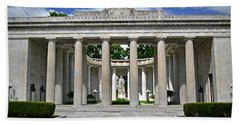Beach Sheet featuring the photograph William Mckinley Memorial 003 by George Bostian