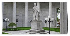 Beach Sheet featuring the photograph William Mckinley Memorial 004 by George Bostian