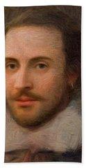 William Shakespeare Beach Sheet
