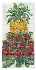 Williamsburg Apple Tree Beach Towel