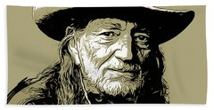 Willie Beach Towel