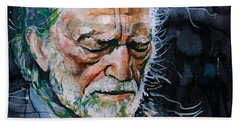 Willie Nelson 7 Beach Towel